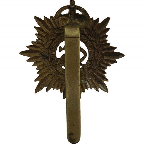 additional image for WW1 Army Service Corps ASC Long Slider PAGRI Cap Badge