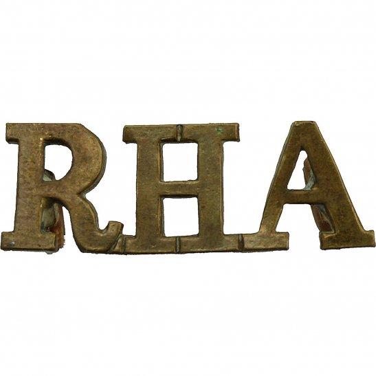 Royal Horse Artillery RHA Royal Horse Artillery RHA Regiment SMALL Shoulder Title