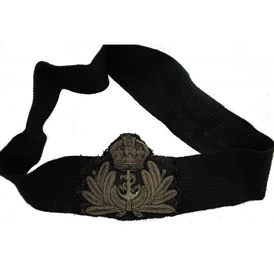 additional image for British Royal Navy Petty Officers Cloth Bullion Cap Badge