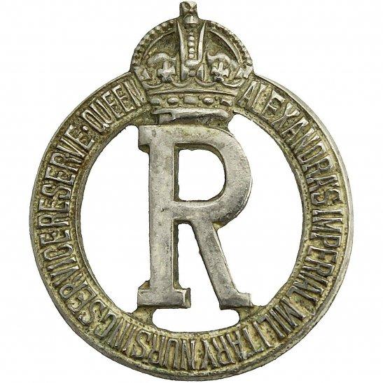 Queen Alexandras Nurses Queen Alexandras Imperial Military Nursing Service Reserve Collar Badge