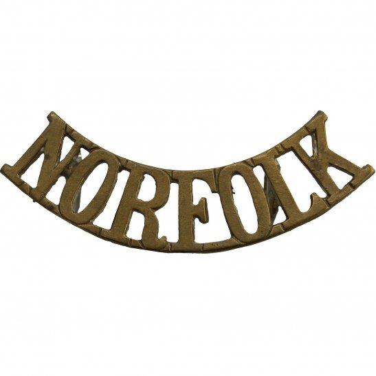 Norfolk Regiment Norfolk Regiment Shoulder Title