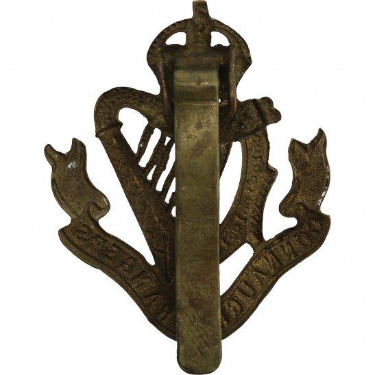 additional image for WW1 Connaught Rangers Regiment Irish Cap Badge