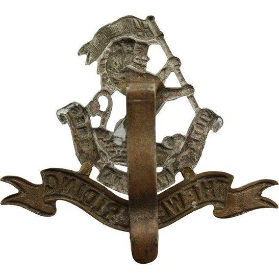 additional image for WW1 Duke of Wellingtons West Riding Regiment Cap Badge