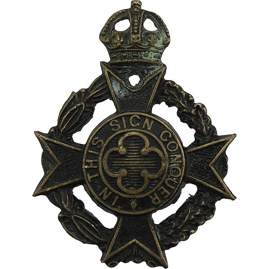 Royal Army Chaplains Department Royal Army Chaplains Department (RAChD) Collar Badge - 2ND PATTERN