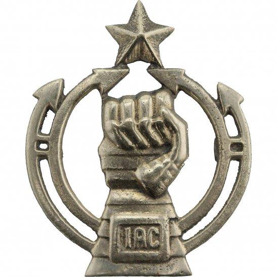 British Indian Army Indian Armoured Corps IAC India Army Cap Badge