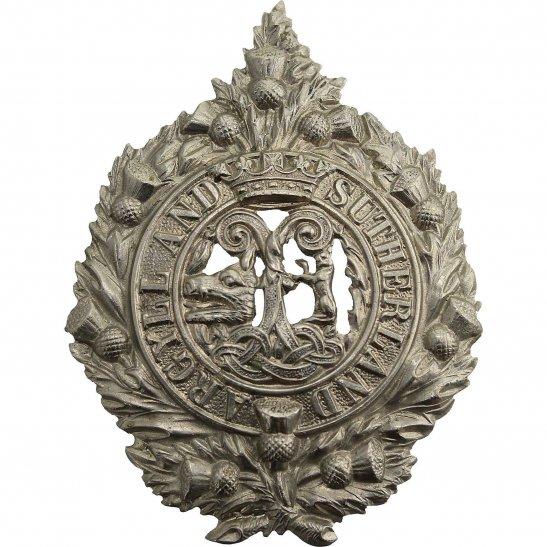 Argyll and Sutherland Highlanders WW1 Argyll and Sutherland Highlanders Regiment Cap Badge