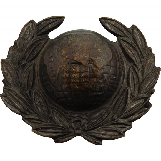 Royal Marines WW2 Royal Marines Corps Collar Badge