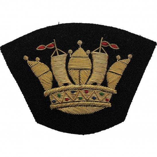 Merchant Navy British Merchant Navy Cloth Veterans Blazer Badge Patch