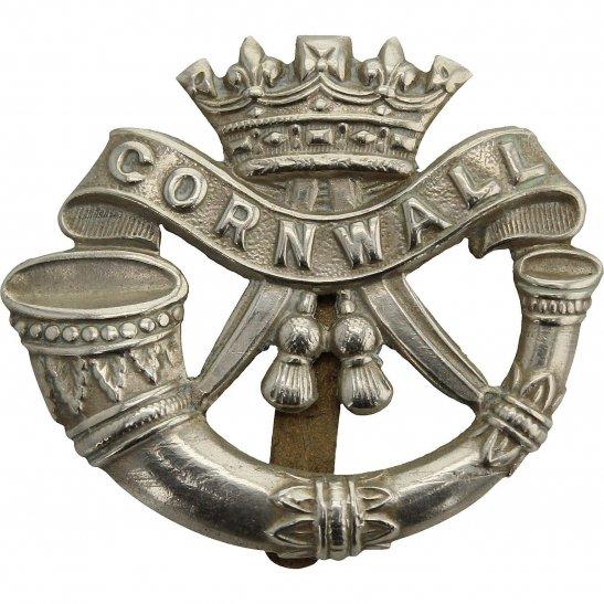 Duke of Cornwalls Light Infantry WW1 Duke of Cornwalls Light Infantry DCLI (Cornwall's) Regiment Cap Badge