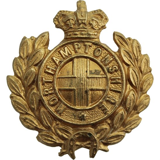 Northamptonshire Regiment VICTORIAN Northamptonshire Regiment Collar Badge