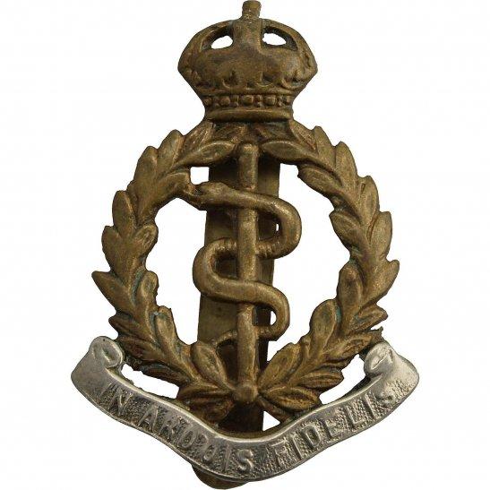 Royal Army Medical Corps RAMC WW2 Royal Army Medical Corps RAMC BI-METAL Cap Badge