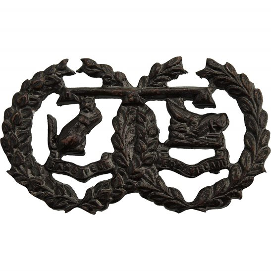 Argyll and Sutherland Highlanders Argyll and Sutherland Highlanders Regiment Officers BRONZE Collar Badge