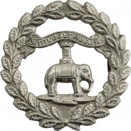 Argyll and Sutherland Highlanders 1st Dumbartonshire Volunteer Battalion Argyll and Sutherland Highlanders Scottish Regiment Collar Badge