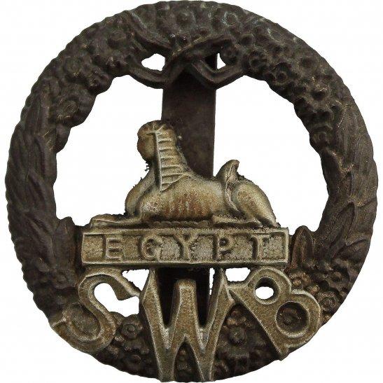 South Wales Borderers WW1 South Wales Borderers SWB Regiment Cap Badge