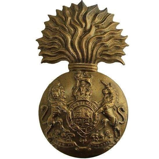 Royal Scots Fusiliers Royal Scots Fusiliers (Scottish) Regiment Cap Badge