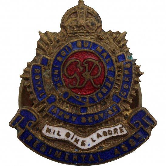 Royal Army Service Corps RASC Royal Army Service Corps RASC Old Comrades Association OCA Lapel Badge