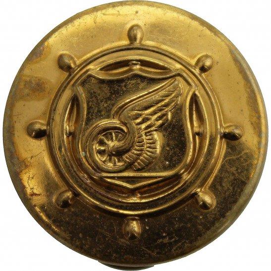 WW2 US Army WW2 United States US Army American TRANSPORTATION Corps Collar Badge - STUD PIN BACK