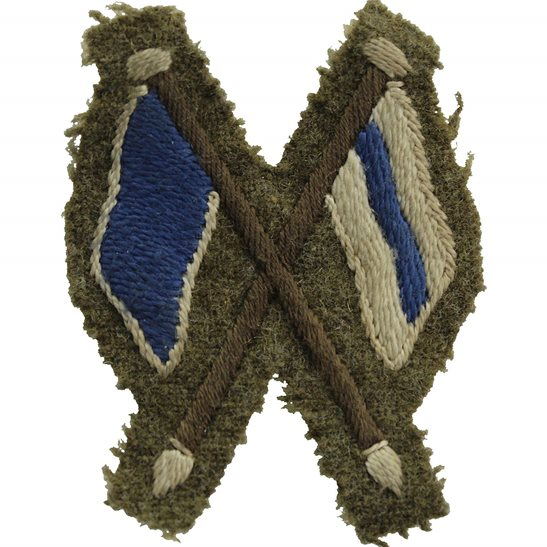 Royal Corps of Signals RCOS WW2 Regimental Signallers Proficiency in Signals CLOTH Arm Trade Badge