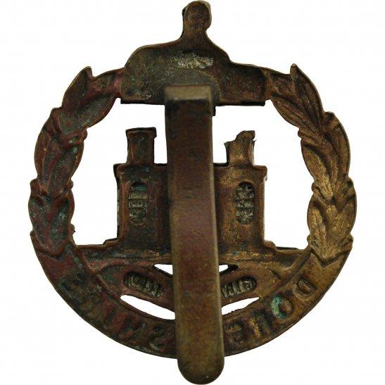 additional image for WW1 Dorsetshire (Dorset) Regiment Cap Badge