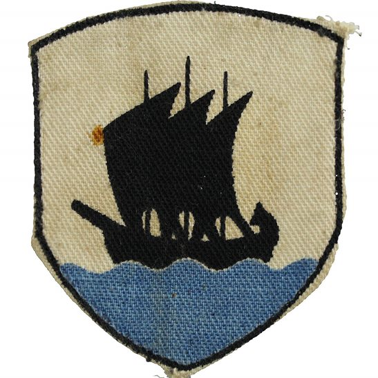 WW2 Tripolitania District PRINTED Cloth Formation Sign Patch Badge