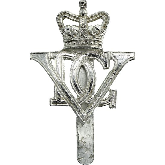 5th Dragoon Guards 5th Royal Inniskilling Dragoon Guards Regiment Staybrite Anodised Cap Badge - Staybright
