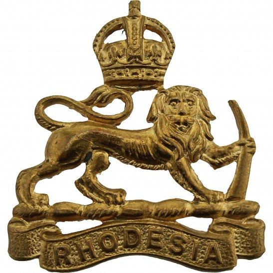 Rhodesian Army Southern Rhodesian Staff Corps Rhodesia Collar Badge