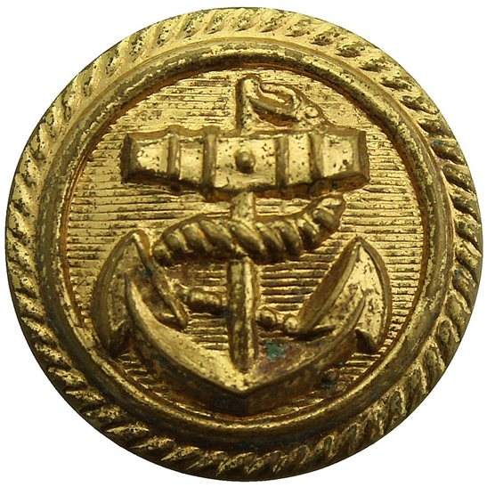 Merchant Navy British Merchant Navy Tunic Button - 26mm
