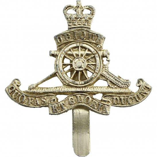 Royal Artillery Staybrite Royal Artillery Regiment Anodised Cap Badge - Staybright