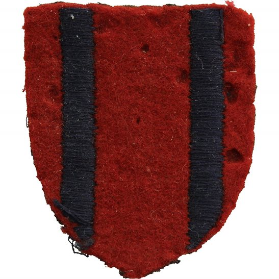 WW2 Royal Engineers Training Brigade Cloth Formation Sign Patch Badge