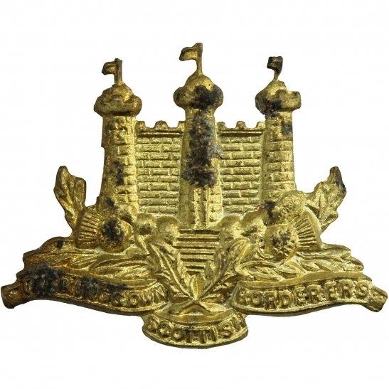Kings Own Scottish Borderers Kings Own Scottish Borderers Regiment (King's KOSB) Collar Badge