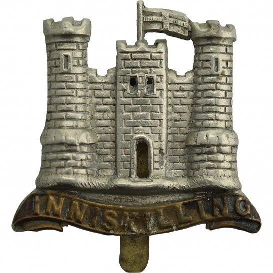 6th Inniskilling Dragoons WW1 6th Inniskilling Dragoons Irish Regiment Cap Badge