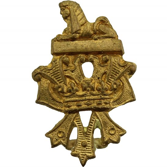 Royal Irish Fusiliers WW1 Royal Irish Fusiliers Regiment Collar Badge