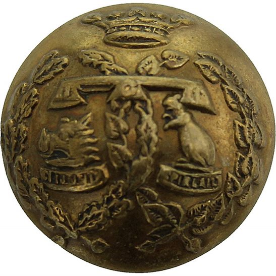 Argyll and Sutherland Highlanders Argyll and Sutherland Highlanders Scottish Regiment SMALL Tunic Button - 19mm