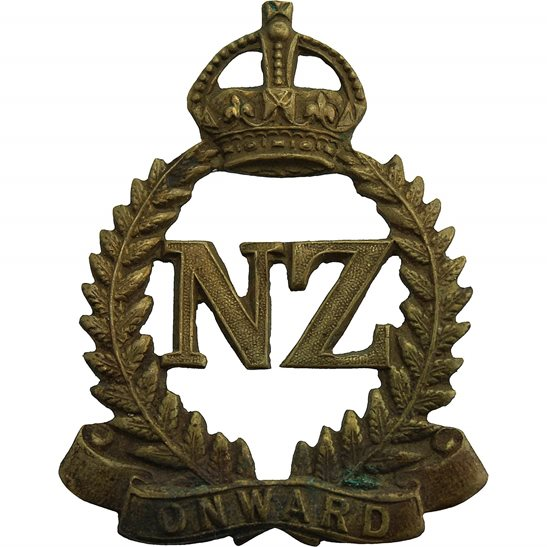 WW1 New Zealand Army WW1 New Zealand Army Infantry Forces Division / Corps Cap Badge