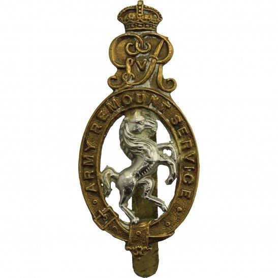 Army Remount Service WW1 Army Remount Service Corps Cap Badge