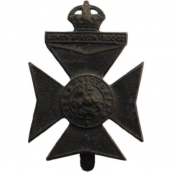 London Battalions 9th (Queen Victorias Rifles) Battalion County of London Regiment Cap Badge