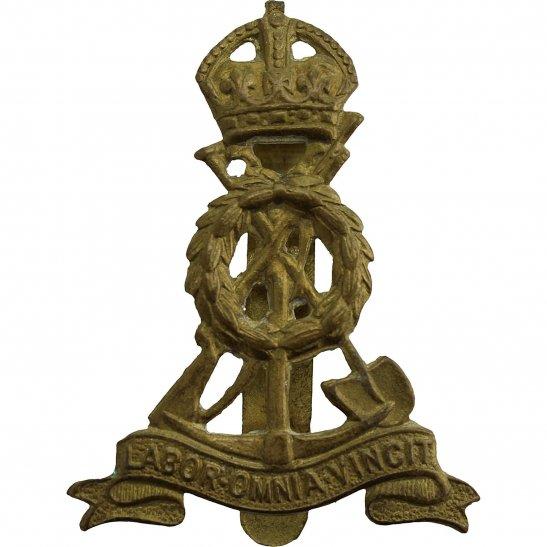 Royal Pioneer Corps WW2 Royal Pioneer Corps Cap Badge
