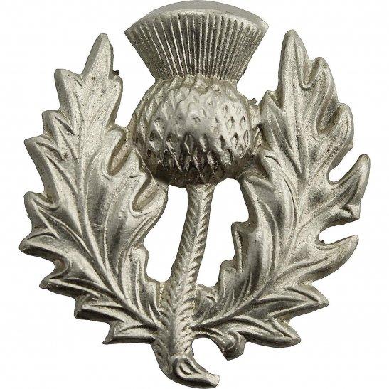 London Scottish 14th Battalion, The London Scottish Regiment Collar Badge
