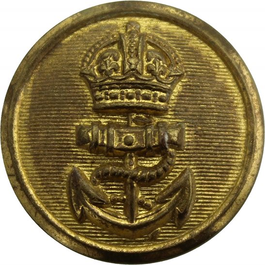 Royal Navy Royal Navy British Anchor Naval Tunic Button - 24mm