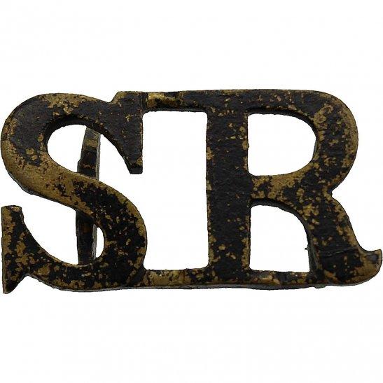 Scottish Rifles The Cameronians (Scottish Rifles) Regiment Shoulder Title