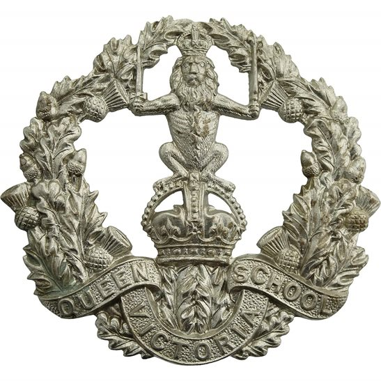 Officer Training Corps OTC Queen Victoria School Dunblane Officers Training Cadet Corps OTC Cap Badge