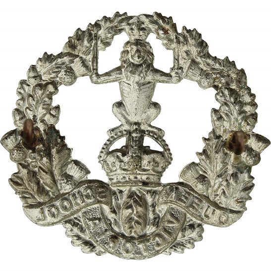 additional image for Queen Victoria School Dunblane Officers Training Cadet Corps OTC Cap Badge