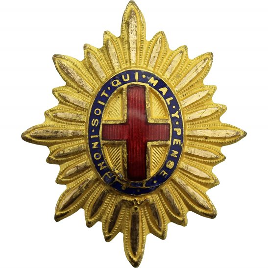 Coldstream Guards Coldstream Guards Regiment OFFICERS Gilt Collar Badge Rank Pip