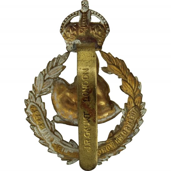 additional image for Queens Own Worcestershire Hussars Regiment Cap Badge - J.R.GAUNT LONDON