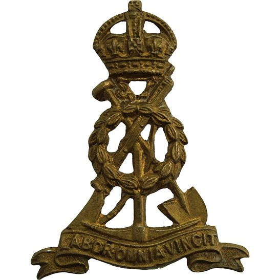Labour Corps Labour Corps (Royal Pioneer Corps) Collar Badge