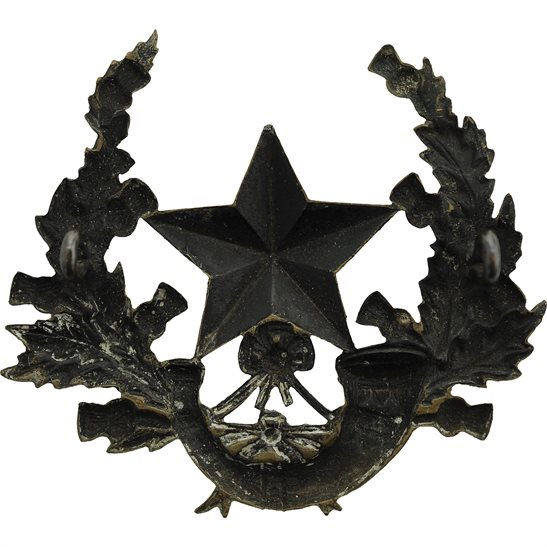 additional image for VICTORIAN Cameronians Scottish Rifles Regiment OFFICERS Glengarry Cap Badge 1881