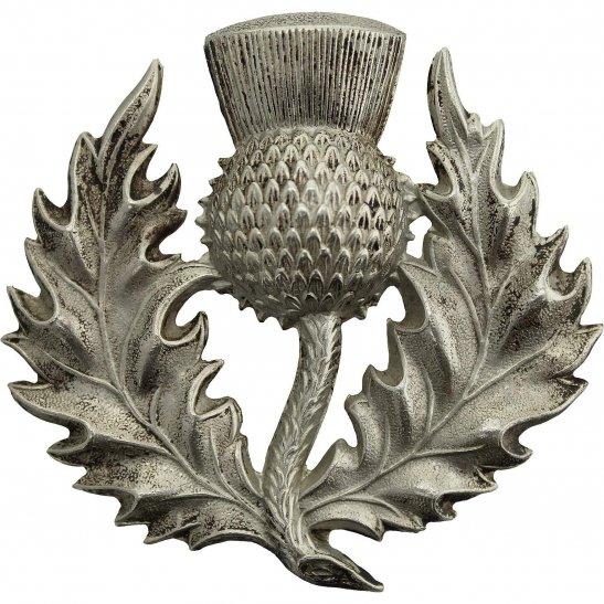 London Scottish VICTORIAN London Scottish Rifles Volunteer Corps Glengarry Cap Badge