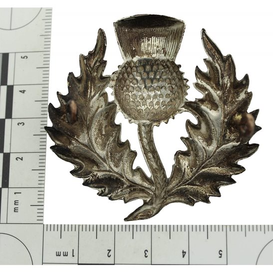 additional image for VICTORIAN London Scottish Rifles Volunteer Corps Glengarry Cap Badge