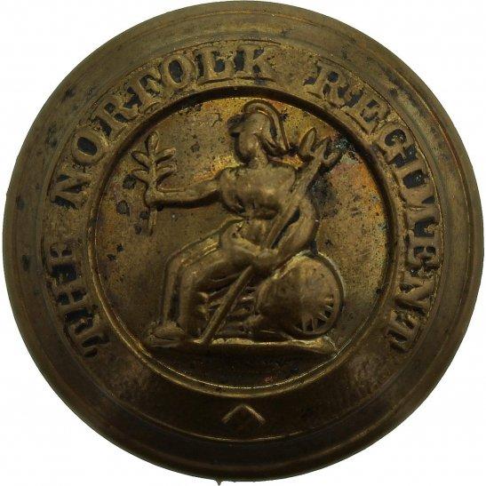 Norfolk Regiment WW1 Norfolk Regiment Tunic Button - 26mm