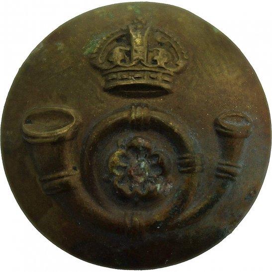 Kings Own Yorkshire Light Infantry KOYLI Kings Own Yorkshire Light Infantry KOYLI Regiment SMALL Tunic Button - 19mm